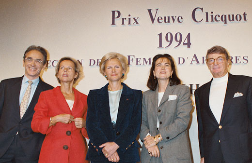 Docteur Nicole Bru, Businesswoman of the Year - Veuve Cliquot Prize, 1994