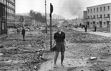 Exposition Gilles Caron: le conflit intérieur