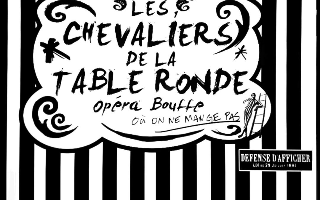 Le Palazzetto Bru Zane – Centre de musique romantique française présente les  Chevaliers de la Table ronde à Paris